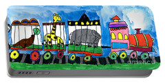 Circus Train Portable Battery Charger