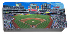 Citi Field Portable Battery Charger by Allen Beatty