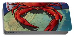 Citizen Crab Of Virginia Portable Battery Charger