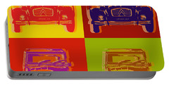 Citroen 2cv Portable Battery Charger by Jean luc Comperat