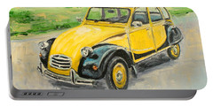 Citroen 2cv Portable Battery Charger