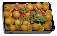 Portable Battery Charger featuring the photograph Citrus by Michael Canning