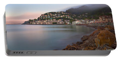 Portable Battery Charger featuring the photograph City By The Sea by Jonathan Nguyen