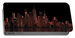 Chicago City Dusk Portable Battery Charger