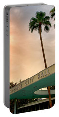 City Hall Sky Palm Springs City Hall Portable Battery Charger
