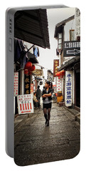 Portable Battery Charger featuring the photograph City Life In Ancient China by Lucinda Walter