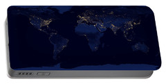 City Lights - Earth Portable Battery Charger