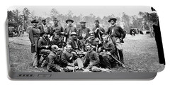 Civil War Officers, 1862 Portable Battery Charger