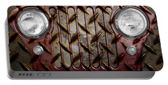 Civilian Jeep- Maroon Portable Battery Charger