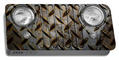 Civilian Jeep- Steel Gray Portable Battery Charger