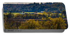Clarksville Railroad Bridge Portable Battery Charger