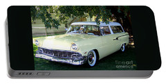 Classic 1956 Ford Ranch Wagon Portable Battery Charger