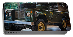 Classic 1969 Land Rover Series IIa Portable Battery Charger