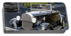 Portable Battery Charger featuring the photograph Classic Ford by Victoria Harrington