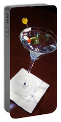 Classic Martini Portable Battery Charger