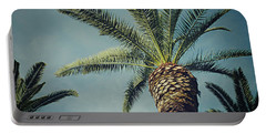Portable Battery Charger featuring the photograph Classic Palms2 by Meghan at FireBonnet Art