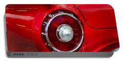 Portable Battery Charger featuring the photograph 1957 Ford Thunderbird Classic Car  by Jerry Cowart