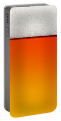 Clean Beer Background Portable Battery Charger