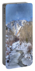 Clear Creek In The Winter Portable Battery Charger