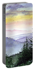 Clear Mountain Morning II Portable Battery Charger