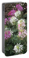 Cleome - Spider Flower Portable Battery Charger