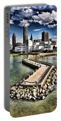 Cleveland Inner Harbor - Cleveland Ohio - 1 Portable Battery Charger