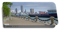 Cleveland Lake Front Portable Battery Charger