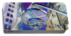 Cleveland Playhouse Square Outdoor Chandelier - 1 Portable Battery Charger