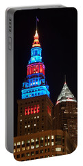 Cleveland Towers Portable Battery Charger by Dale Kincaid
