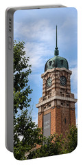 Cleveland West Side Market Tower Portable Battery Charger by Dale Kincaid