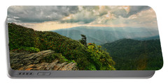 Cliff Tops At Mt. Leconte Gsmnp Portable Battery Charger