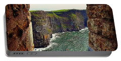 Cliffs Of Moher From O'brien's Tower Portable Battery Charger