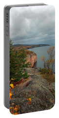 Cliffside Fall Splendor Portable Battery Charger