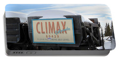 Portable Battery Charger featuring the photograph Climax Colorado by Fiona Kennard