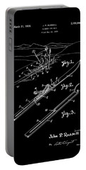 Climber For Skis 1939 Russell Patent Art Portable Battery Charger by Lesa Fine