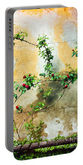 Portable Battery Charger featuring the photograph Climbing Rose Plant by Silvia Ganora