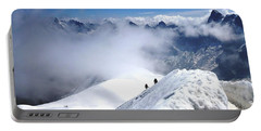 Climbing To The Aiguille Du Midi Portable Battery Charger