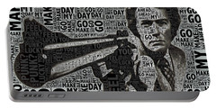 Clint Eastwood Dirty Harry Portable Battery Charger