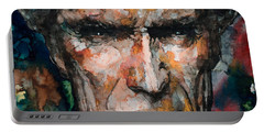 Clint Eastwood Portable Battery Charger by Laur Iduc