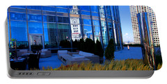 Clock Tower Reflection Portable Battery Charger