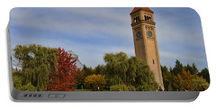 Clocktower Fall Colors Portable Battery Charger