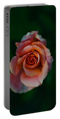 Close-up Of A Pink Rose, Beverly Hills Portable Battery Charger by Panoramic Images