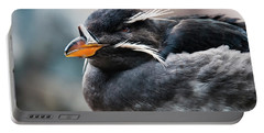 Close-up Of Rhinoceros Auklet Portable Battery Charger