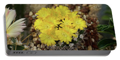 Close-up Of Wildflowers Portable Battery Charger