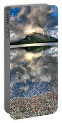 Portable Battery Charger featuring the photograph Cloud Catcher by David Andersen