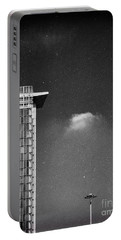 Portable Battery Charger featuring the photograph Cloud Lamp Building by Silvia Ganora