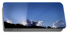 Cloud Rays Portable Battery Charger by Craig T Burgwardt
