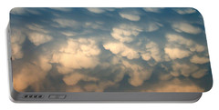 Cloud Texture Portable Battery Charger