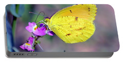 Cloudless Sulphur Portable Battery Charger by Deena Stoddard
