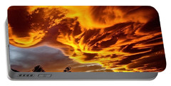 Portable Battery Charger featuring the photograph Clouds 2 by Pamela Cooper